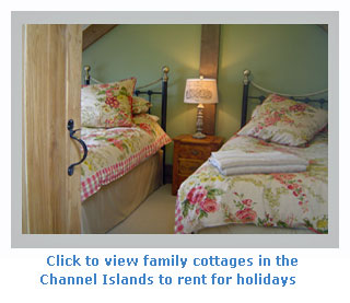 family selfcatering holiday cottages in the Channel Islands