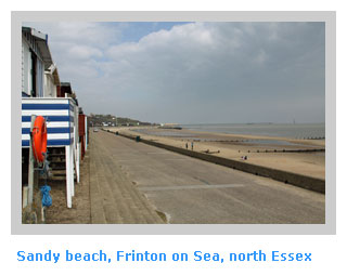self-catering cottages near Frintoon on Sea Essex
