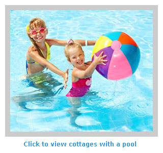 family cottages to rent with a swimming pool