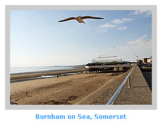 Burnham on Sea in Somerset a plendid location for family self-catering holidays