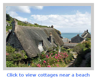 family cottages near a beach
