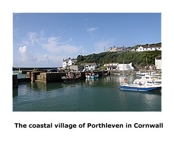 Porthleven in Cornwall has a high percentage of holiday cottages