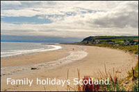 family friendly cottages with highchair scotland