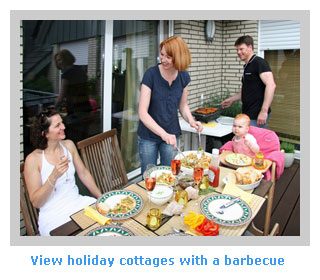 family holiday cottages to rent with a barbecue
