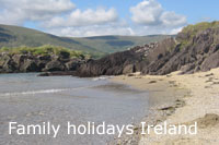 rent a family friendly cottage with high chair in Ireland