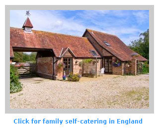 family self catering cottages in england