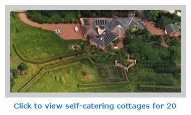 self catering accommodation for 20