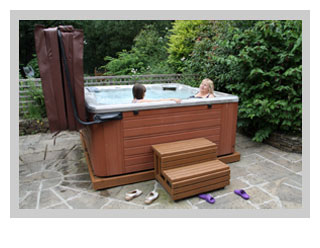 family holidays with hot tub