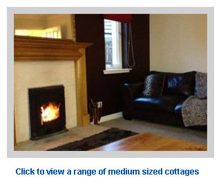 very nice medium sized cottages for 5-8 people