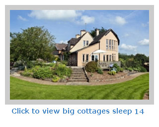 big cottage sleeps 14 in the country