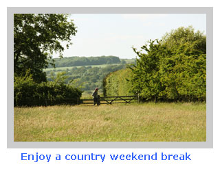weekend country break for the whole family