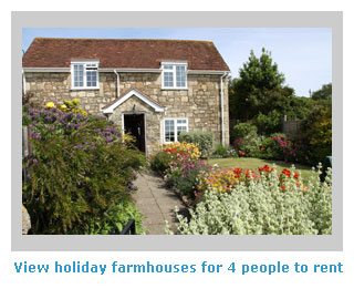 farmhouse to rent for self catering holidays for 4