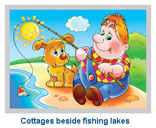 fishing holidays with self-catering cottages and lodges