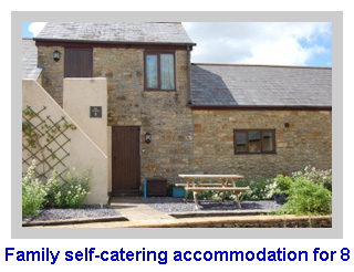 Family self-catering accommodation for 8