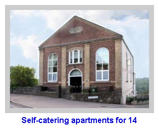 Self-catering apartments for 14
