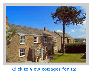 consider Family friendly self-catering for groups 12