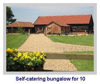 for people who prefer accommodation on one level self catering bungalow for 10