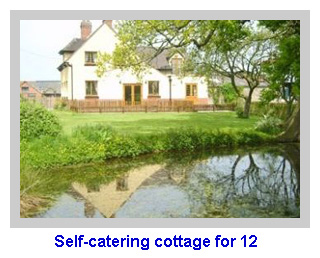 Self-catering cottage for 12