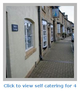 family self catering holiday cottages for 4 in a town