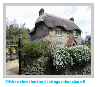 thatched cottages sleep 8